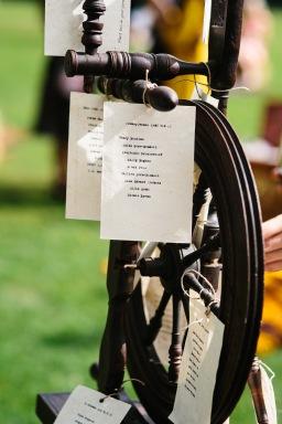 DIY Wedding – Menus and Place Settings Using an Antique Typewriter